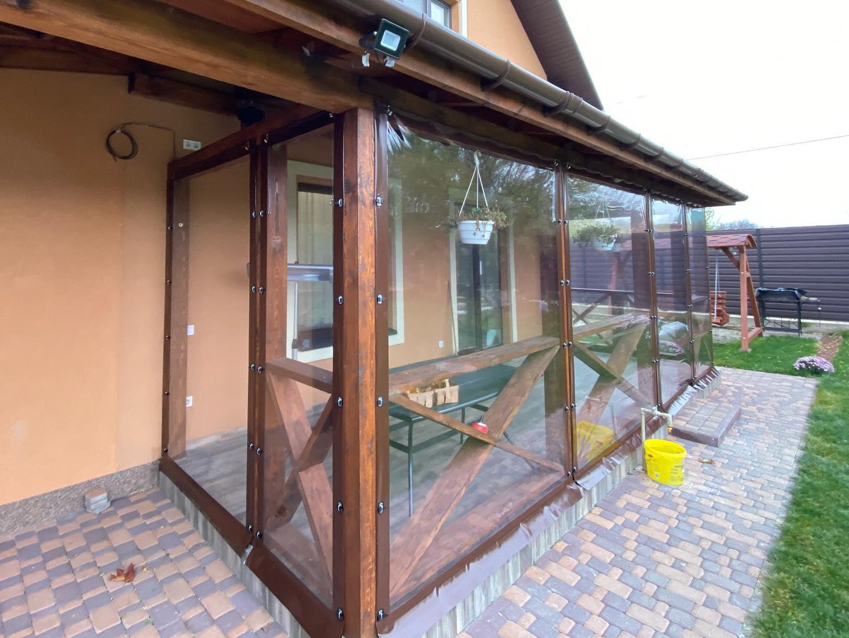 Гибкие окна для беседок и веранд в Николаеве