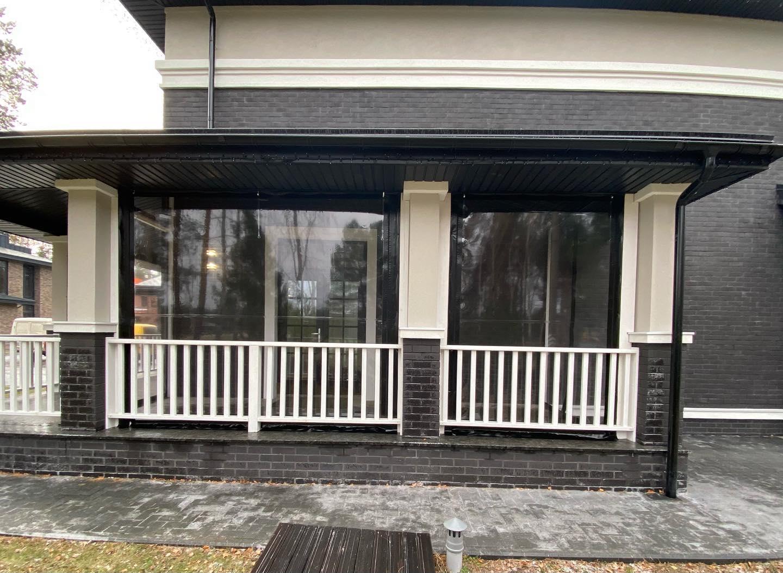 ПВХ шторы и мягкие окна для беседок и веранд в Бобровице