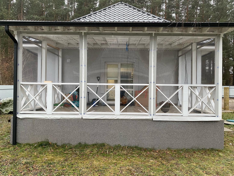 ПВХ шторы и мягкие окна для беседок и веранд в Борзне