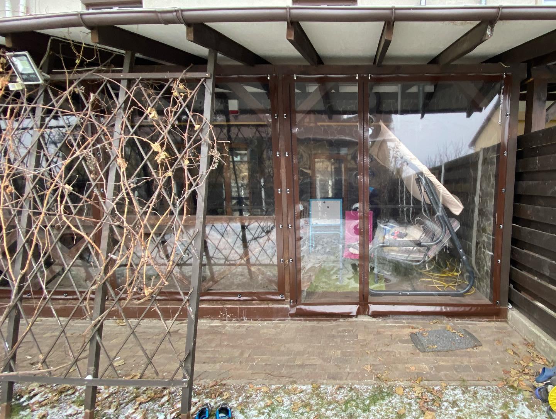 ПВХ шторы и мягкие окна для беседок и веранд в Семёновке