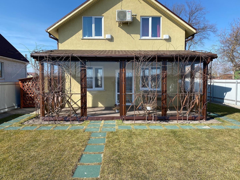 ПВХ шторы для веранды в Пуховке