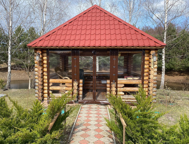Мягкие окна для беседки в Жукине (Вышгородский Район)