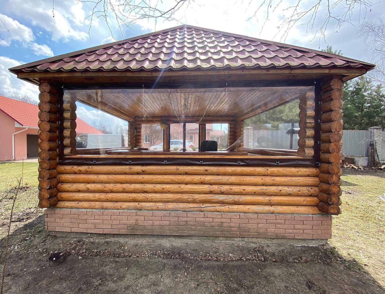 ПВХ шторы для беседки в Жукине (Вышгородский Район)