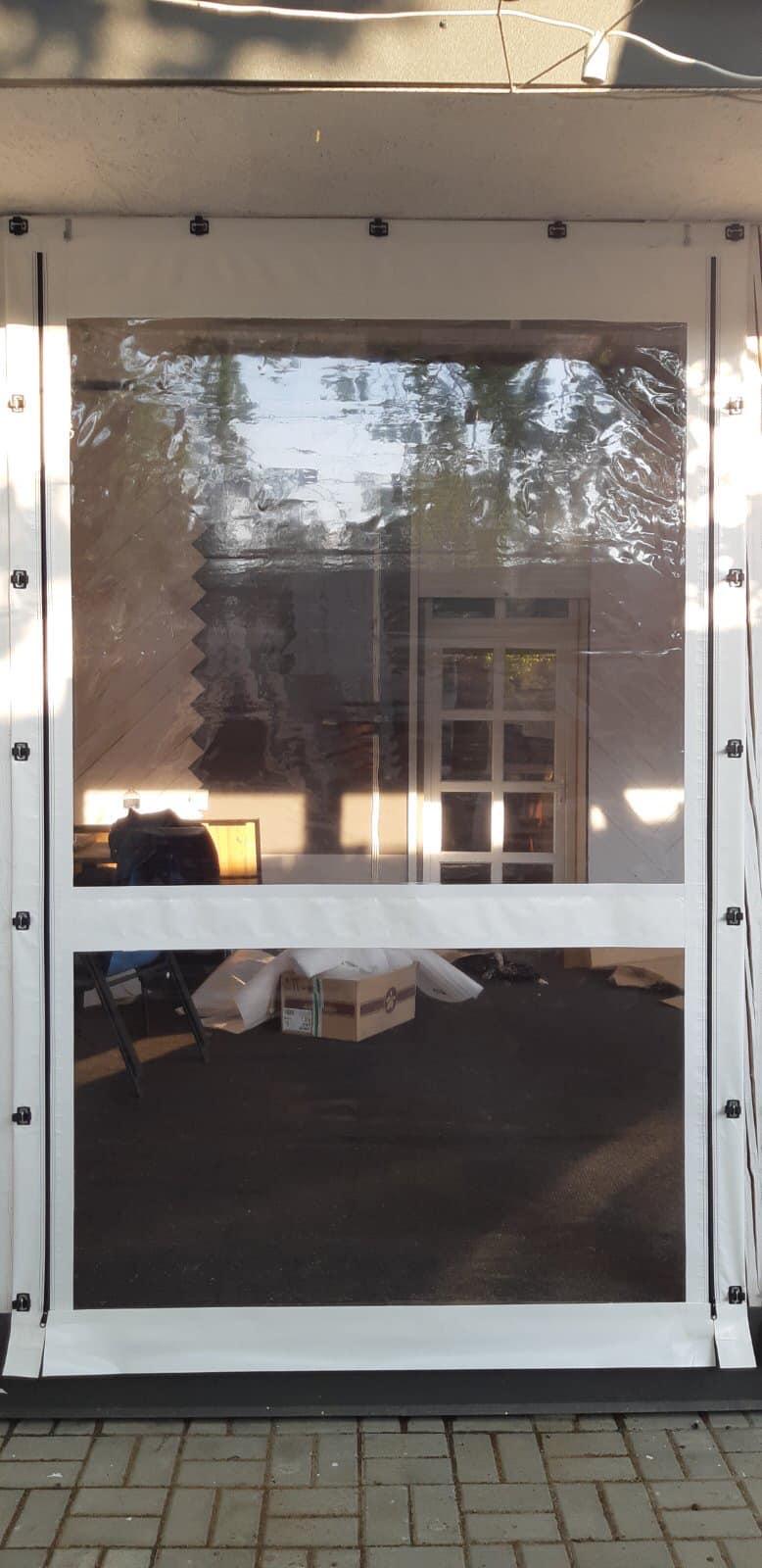 Мягкие окна на террасу в Черновцах