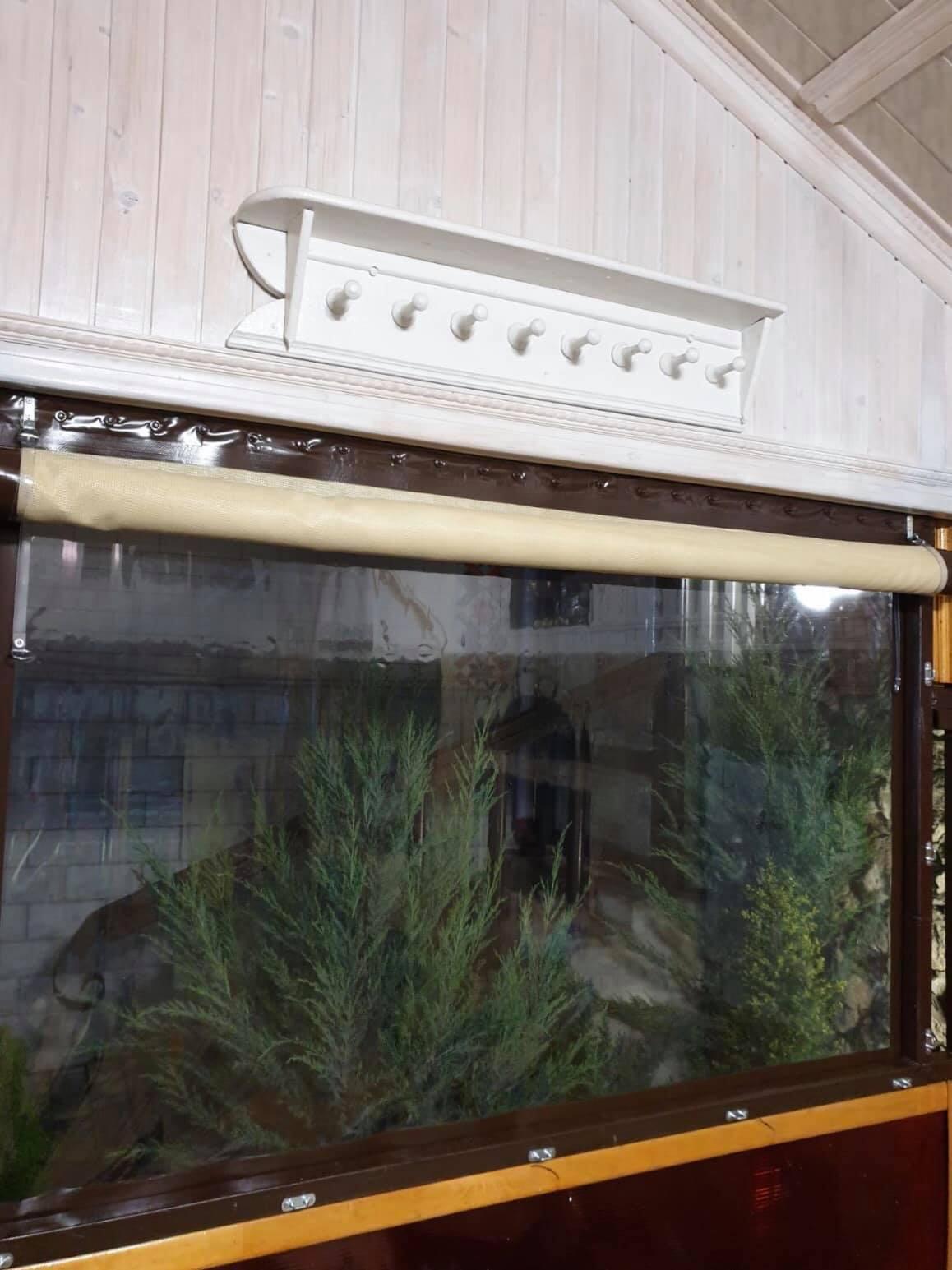 Гибкое окно плюс москитная сетка на один проем