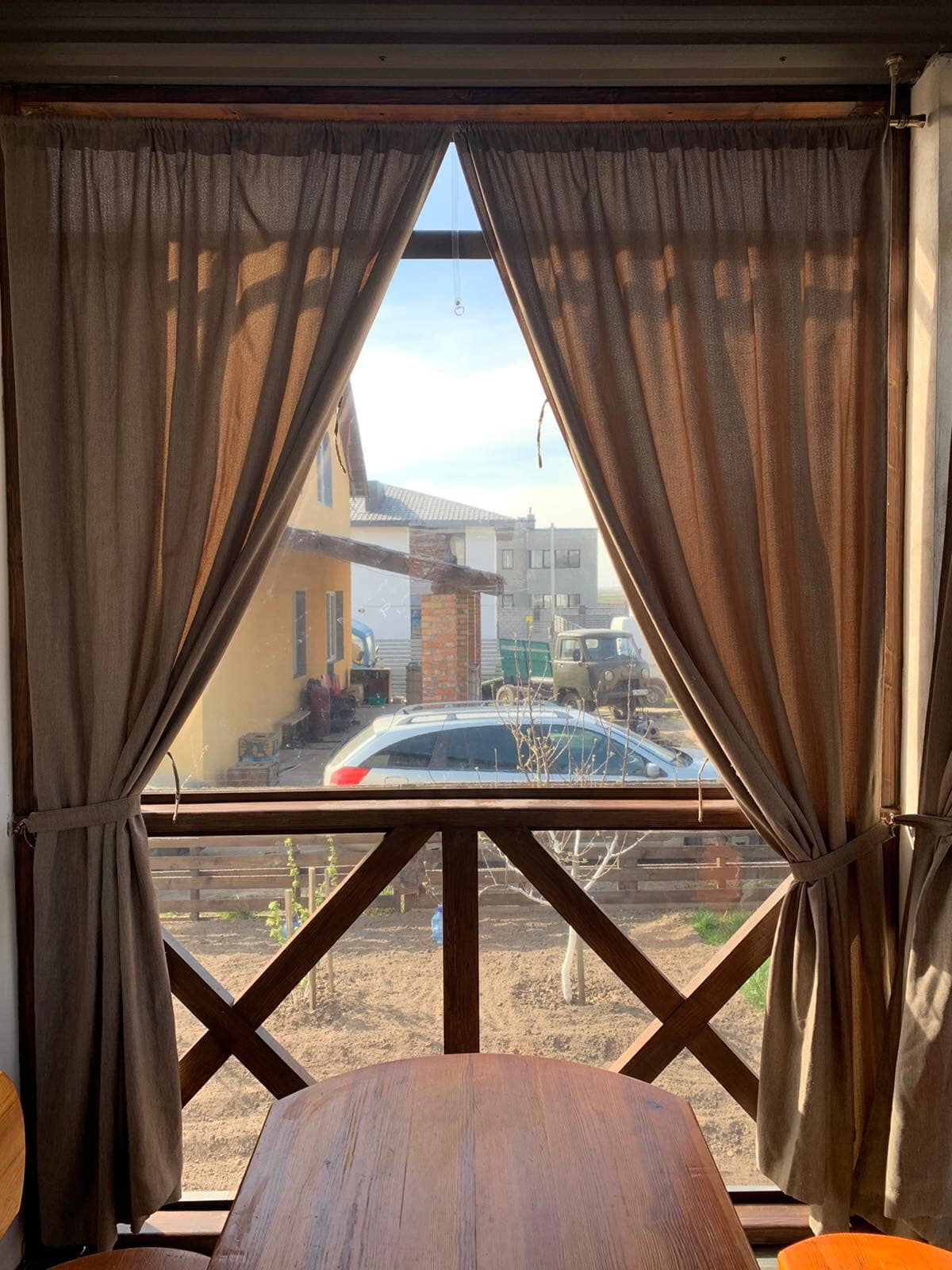 Брезентовые окна на веранду в Киеве