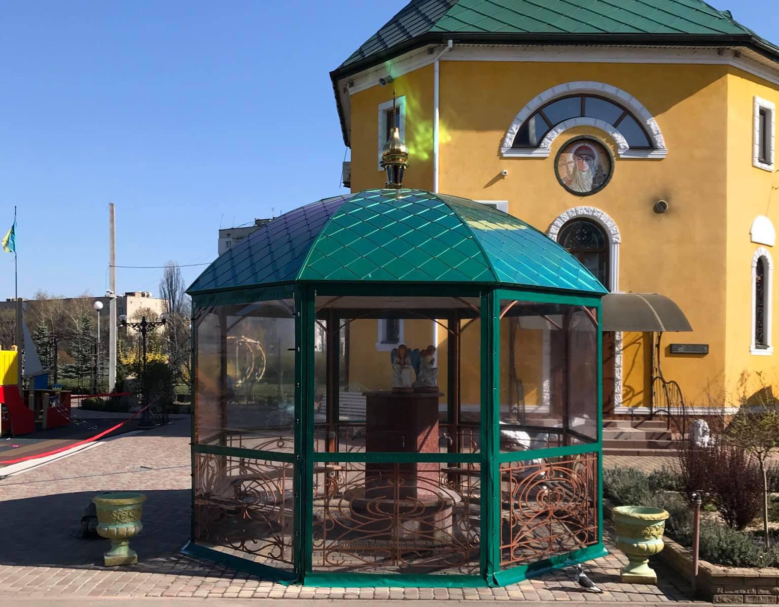 Гибкие окна для церкви