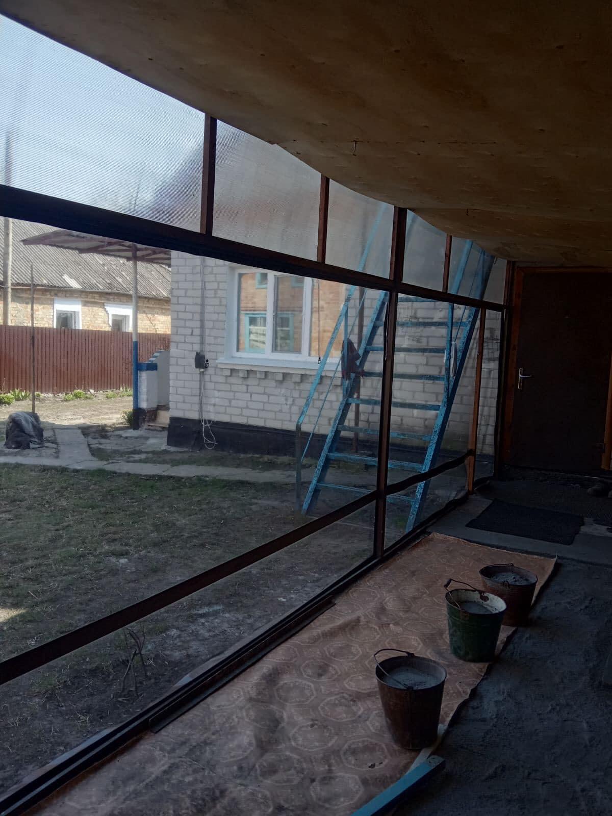 Гибкие окна на веранду в Мироновке