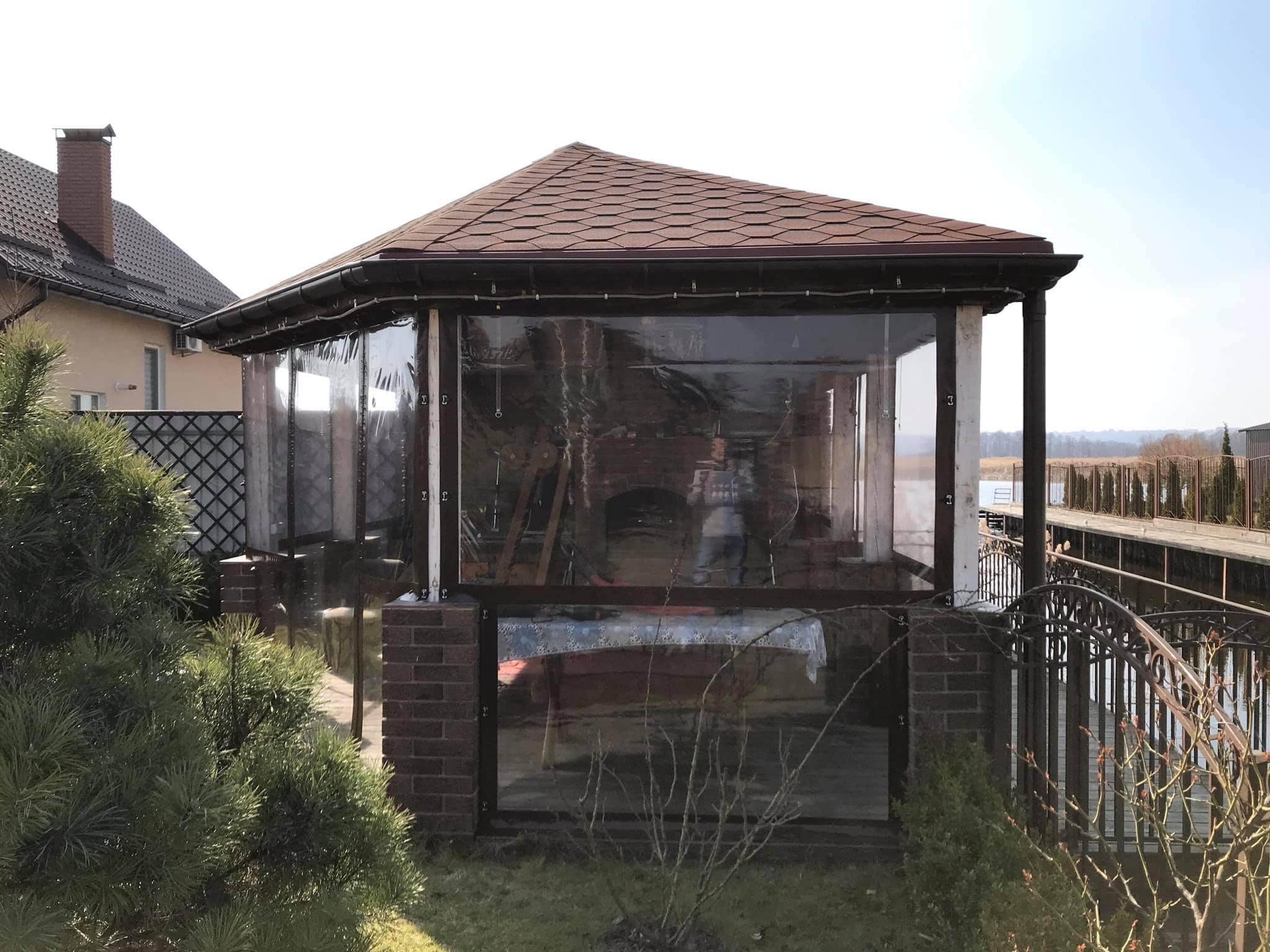 ПВХ шторы для беседки в Кийлов (Бориспольский район)