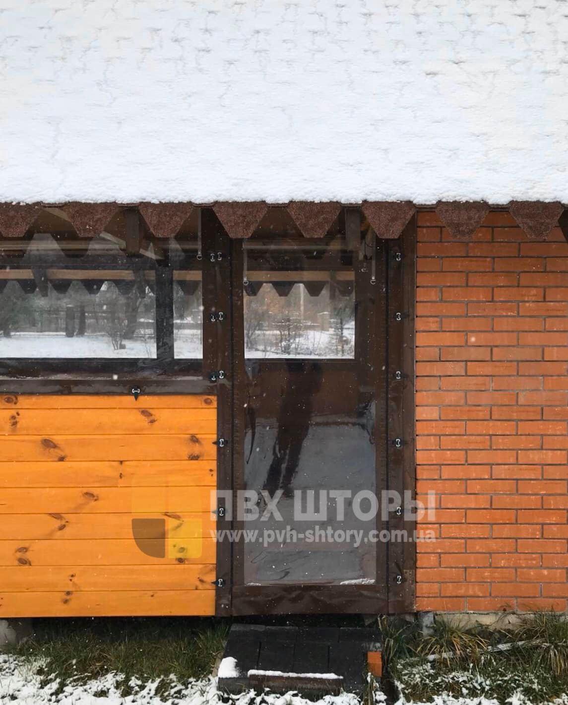 Брезентовые окна для беседки в Верховцево